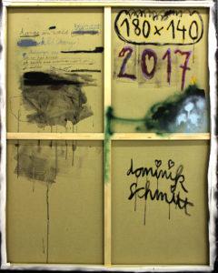 Dominik Schmitt - 2017 - 180x140 - ich bin kein hirsch