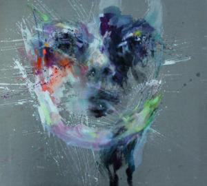 Lucia Riccelli - Ferne - acrylic/oil on linen 100x110cm