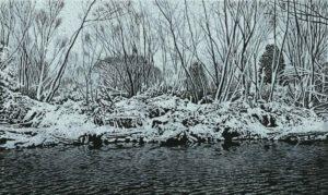 Pielach-Winter_Farbholzschnitt 25x41,5