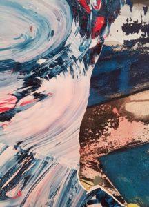 Erzsebet Nagy Saar - Angelique Serie - 40x60 Acryl auf Leinwand (3)