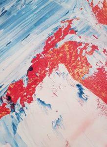 Erzsebet Nagy Saar - Angelique Serie - 40x60 Acryl auf Leinwand (4)