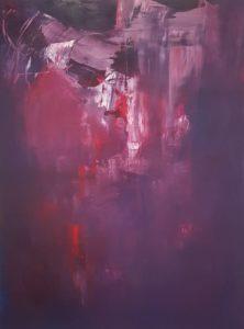 Erzsebet Nagy Saar - inside out - Acryl auf Leinwand 200x150