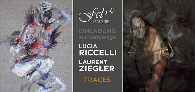 Lucia RICELLI – Laurent ZIEGLER: Traces